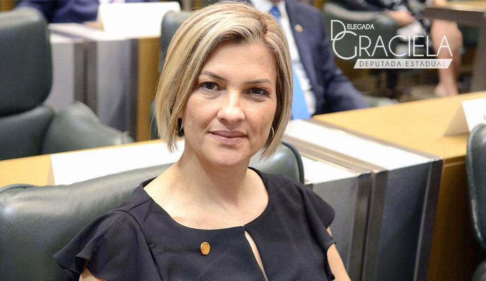 Deputada Delegada Graciela defende contratações para Polícia Civil.