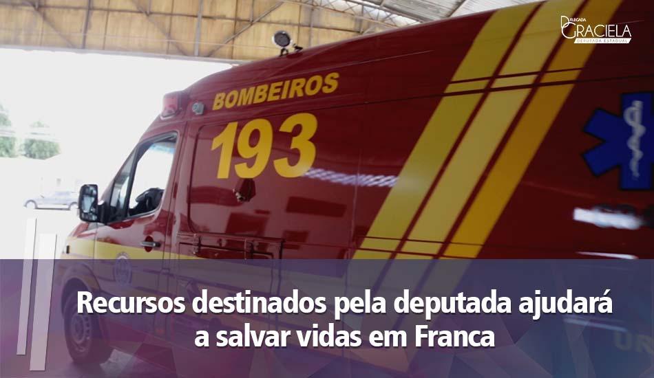Com ajuda de Graciela, Bombeiros vão receber viatura de resgate